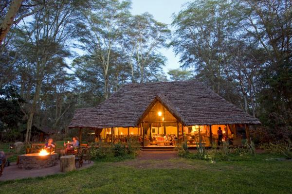 Migunga Tented Camp Main Lodge