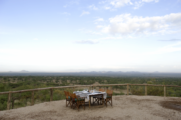 Kambi ya Tembo Outdoor Dining Room