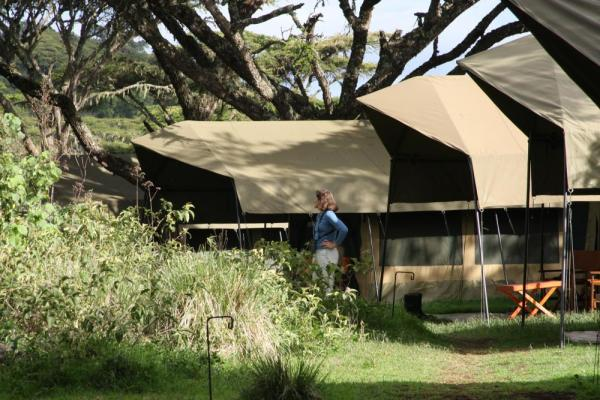 A view of the Lemala Ngorongoro Camp