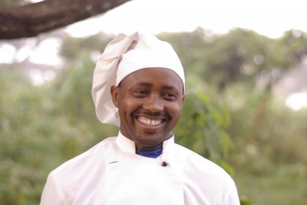 The chef at the Lemala Ngorongoro Camp