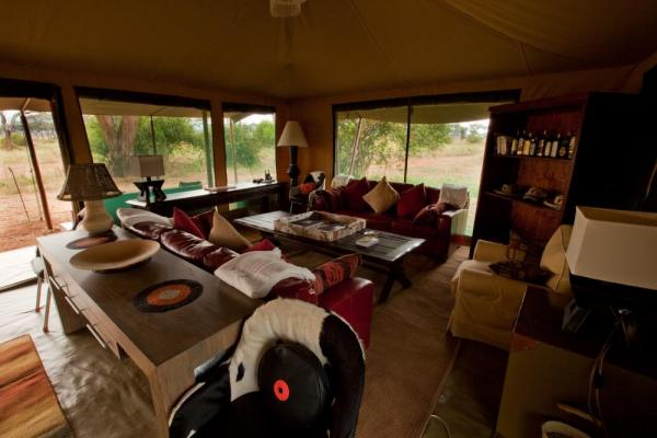 Relax in comfort at the Lemala Elewanja Camp