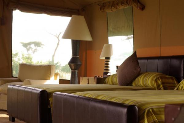 Lemala Elewanja Camp's spacious and comfortable rooms.