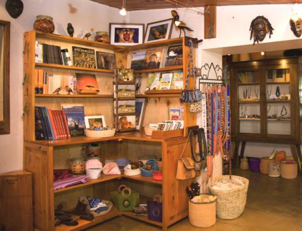 Gibb's Farm's boutique, perfect for local goods.
