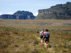 Hiking deep into Chapada Diamantina National Park