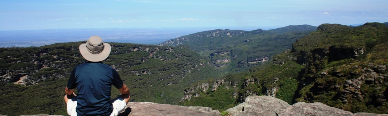 Enjoy the incredible view of Chapada Diamantina
