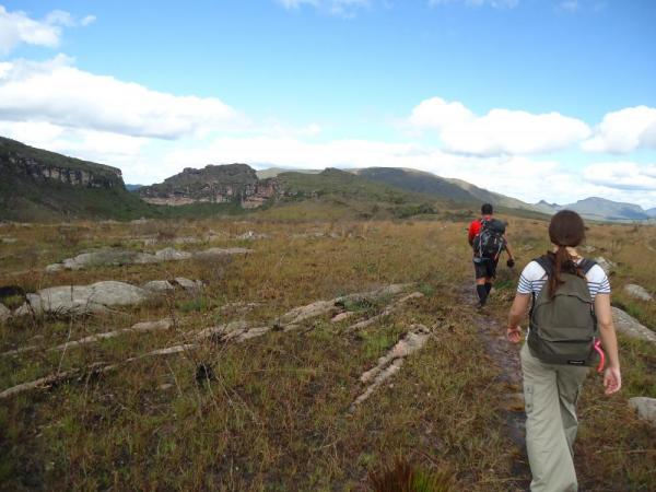 Hiking through Chapada Diamantina National Park