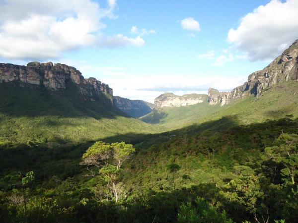A spectacular view of Chapada Diamantina National Park