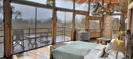 Tarangire Treetops Lodge's spacious rooms.