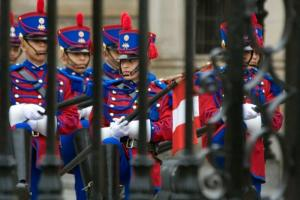 Lima - changing of the guard