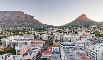 A view of Cape Town.