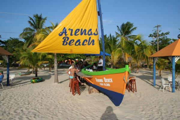 The Boat Bar At Arenas Beach Hotel