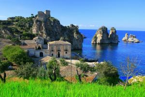 Cruise past the lush Sicilian landscape