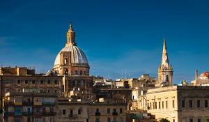 Tour the charming city of Valletta, Malta.