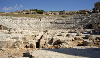 Visit the ancient theatre of Syracuse
