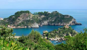 Visit the ruins of Taormina on your Dolce Vita cruise