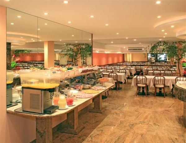 Enjoy your meals buffet-style at the Atlantis Hotel