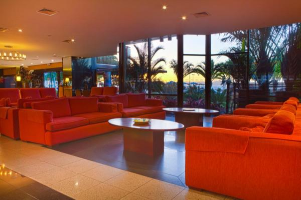 Relax in the lobby of Othon Palace