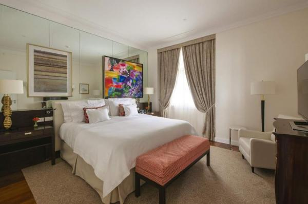 The suites at the Copacabana Palace are spacious and modern