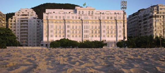 Stay in the luxurious Copacabana Palace on your Brazilian tour
