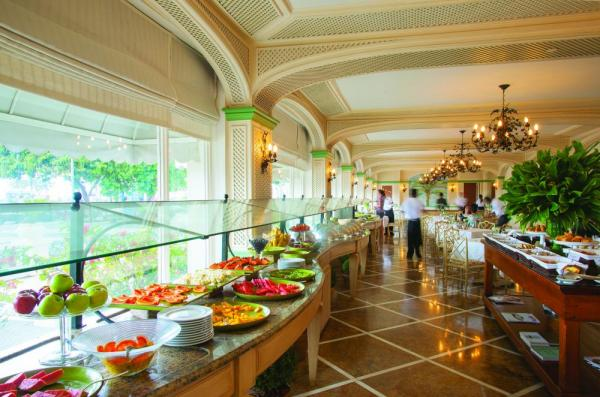 Enjoy fine dining on your Brazilian tour at the Copacabana Palace