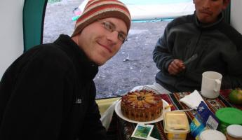 Happy Birthday Aaron - Day 2 of our Inca Trail Hike in Peru