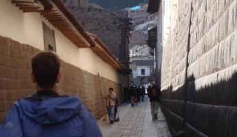 Typical street in Cusco ... beautiful