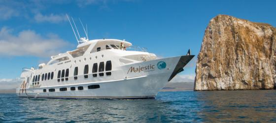 Enjoy a Galapagos cruise aboard the Majestic