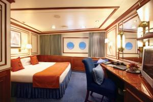 Your  Category B Stateroom on the National Geographic Orion