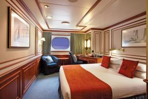 A Category A Stateroom on the National Geographic Orion