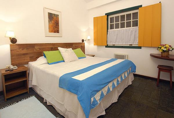 Stay in a spacious apartment at Pousada do Principe on your Brazil tour