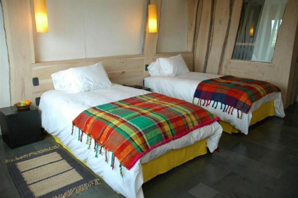 Stay in a comfortable twin room at Remota