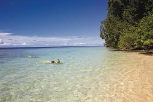 Snorkel off stunning sand beaches