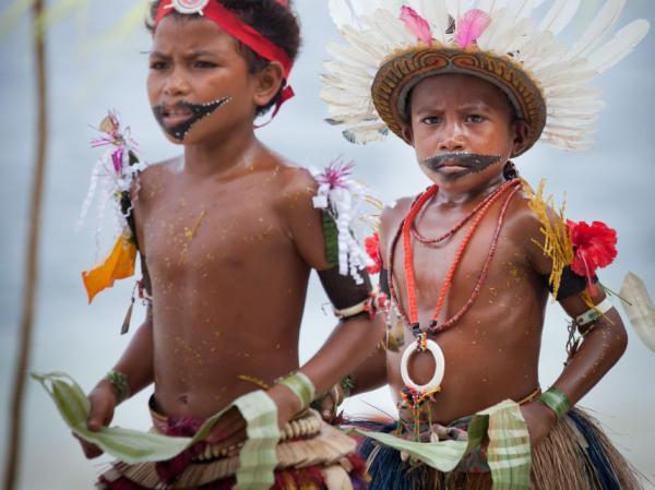 Watch as children of Kitava perform a traditional dance