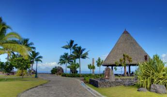 Traditional buildings of Tahiti