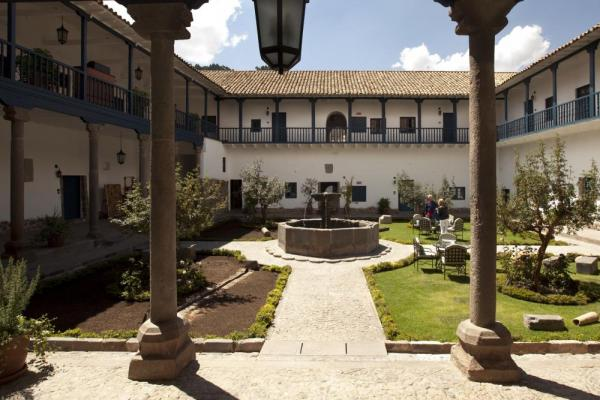 Stay at the lovely Palacio Nazarenas on your Peru tour