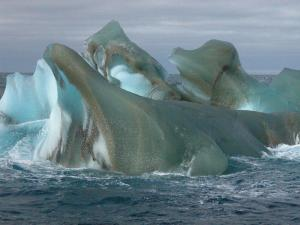 Icebergs seen during our zodiac excursion