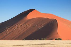 The red Sossusvlei Dunes