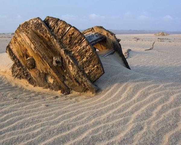 The Skeleton Coast of Africa