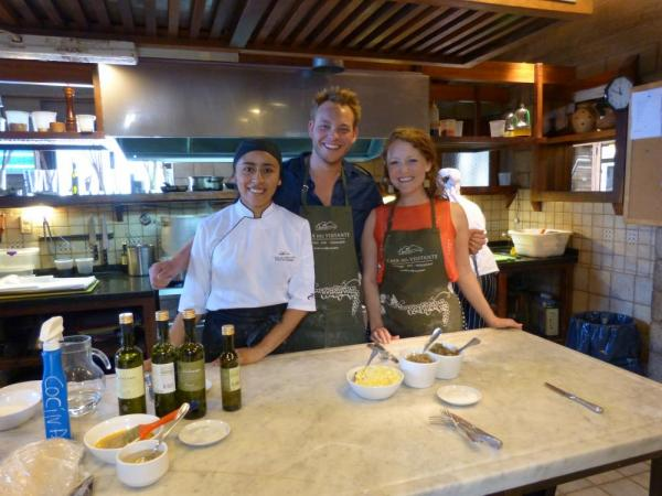 Cooking class in Argentina