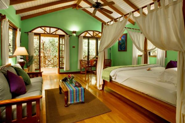 Lovely bedroom at Hamanasi Resort