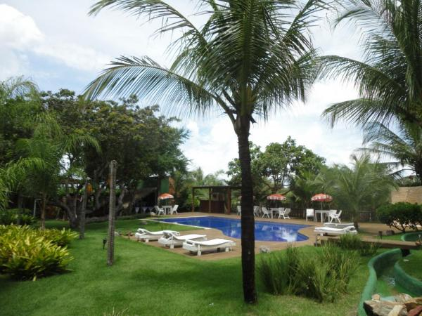 Relax by the pool at  Pousada Naquela on your Brazil tour