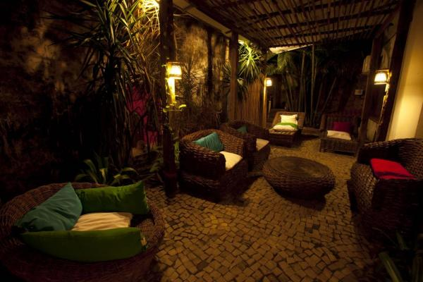 Relax in the lounge of Pousada Portas da Amazonia