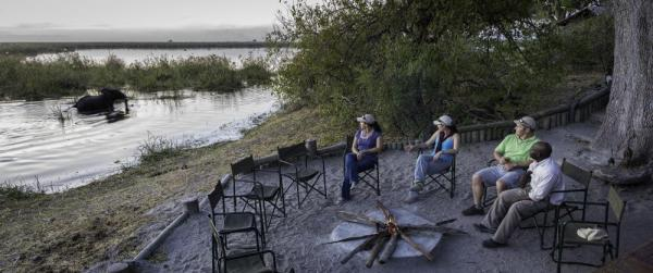 Linyanti Discoverer Camp in Botswana