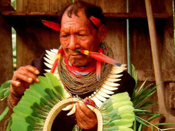 Interact with the indigenous people of the Amazon