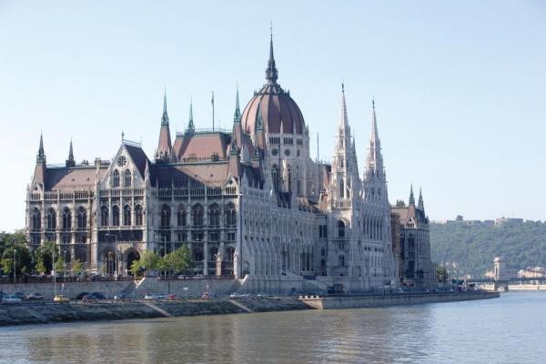 The parliament building of Budapest