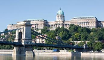 Sail past the royal palace of Budapest