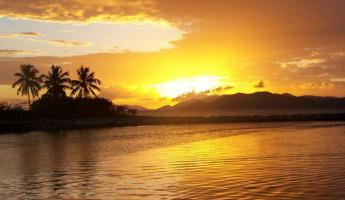 View gorgeous sunsets over the Virgin Islands