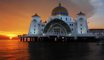 Admire the stunning architecture of Malacca