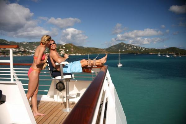 See the sights from the comfort of the SeaDream II