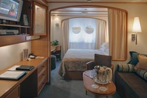 Your stateroom on the SeaDream II